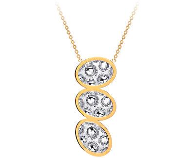 Ocelový náhrdelník s třpytivým přívěskem Idared 7364Y00