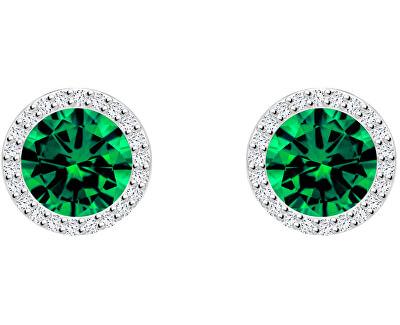 Stříbrné náušnice Lynx Emerald 5269 66