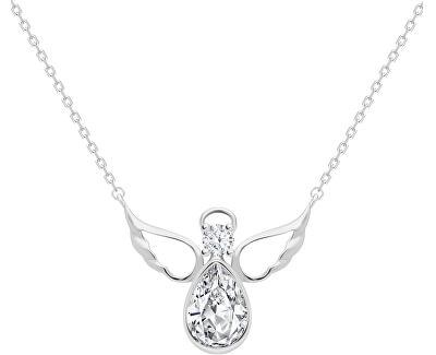 Stříbrný náhrdelník Angelic Faith 5292 00 (řetízek, přívěsek)