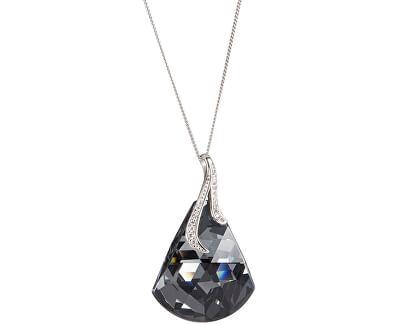 Preciosa Strieborný náhrdelník Crystal Bell 6038 40