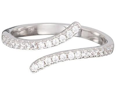 Preciosa Strieborný prsteň s kryštálmi Tiny 5119 00