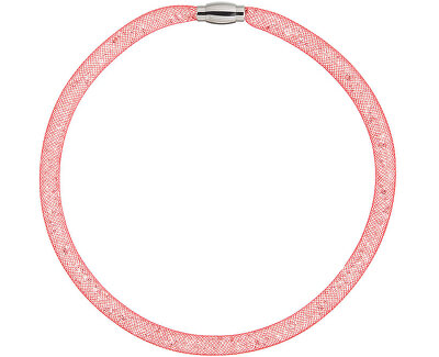 Preciosa Třpytivý náhrdelník Scarlette červený 7250 57