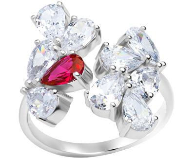 Třpytivý prsten Libra 5243 55