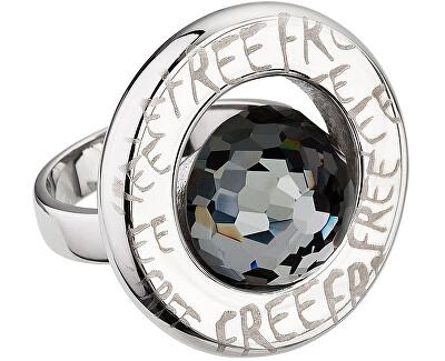 Preciosa Prsten Beryl Chrome 7096 40