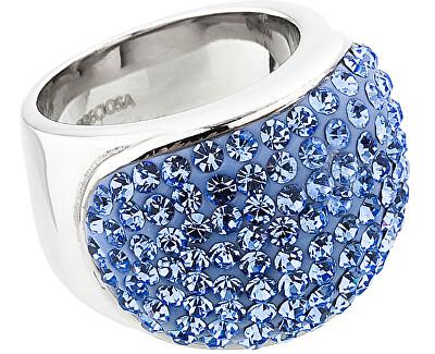Preciosa Prsten Brillant Light Sapphire 7056 58