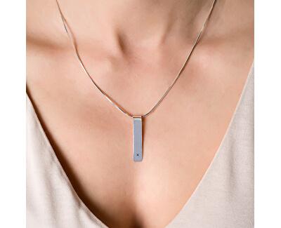 Designový stříbrný náhrdelník Genia KO5145_ST4095_50_RH  (řetízek, přívěsek)