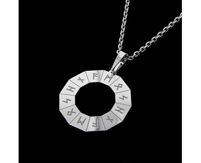 Pánský stříbrný náhrdelník Hitta KO5205_MO060_50_RH  (řetízek, přívěsek)