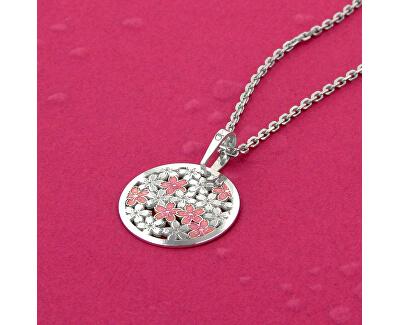 Stříbrný náhrdelník Cherry Mood KO5044_MO040_45_RH  (řetízek, přívěsek)