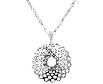 Originální stříbrný náhrdelník KO2032_BR030_45_RH  (řetízek, přívěsek)