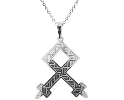 Pánský stříbrný náhrdelník Othila KO5207_MO060_50_RH (řetízek, přívěsek)