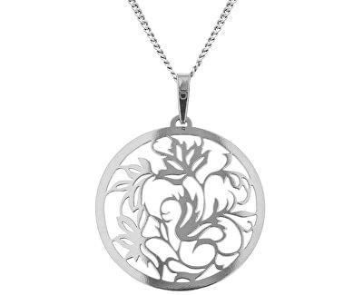 Stříbrný náhrdelník Liana KO5187_CU040_45_RH  (řetízek, přívěsek)