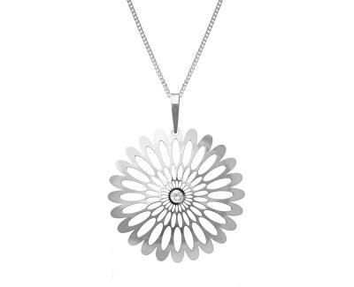 Stříbrný náhrdelník Shining Blossom KO0941M_CU040_50_RH  (řetízek, přívěsek)