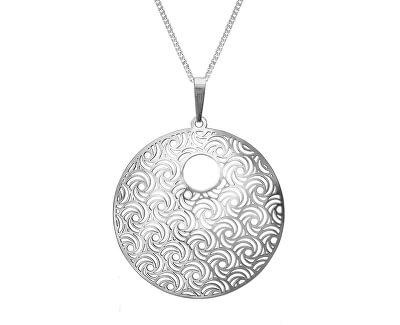 Stříbrný náhrdelník Whirling KO1277V_CU050_45_RH  (řetízek, přívěsek)