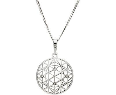 Tajemný stříbrný náhrdelník KO1594_CU040_50_RH  (řetízek, přívěsek)