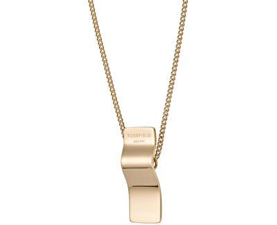 Pozlacený náhrdelník Wave BWCNG-J206