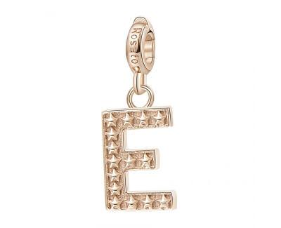 Pandantiv placat cu aur Letter E RZ083