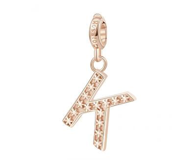 Pandantiv placat cu aur Letter K RZ089