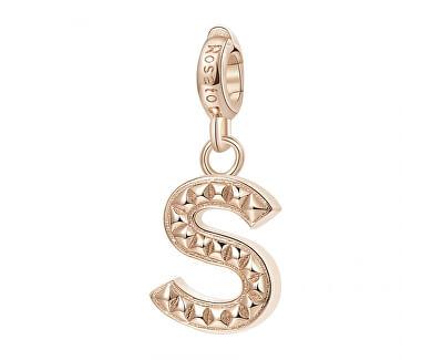 Pandantiv placat cu aur Letter S RZ097
