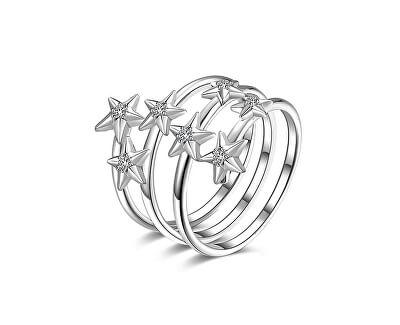 Inel din argint cu zircon RZA001