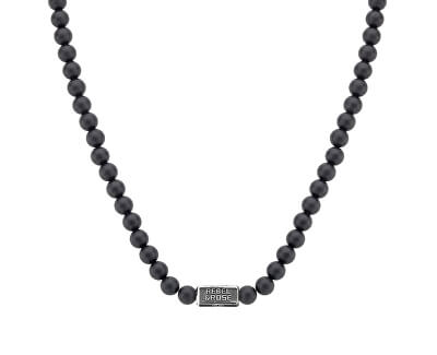 Férfi nyaklánc onyx RR-NL015-S-70