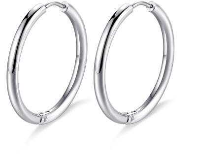 Ocelové kruhové náušnice Happy Ears SHEA02