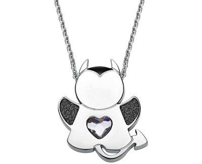 Ocelový náhrdelník Angel or Devil SNG08