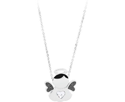 Ocelový náhrdelník Angels SNG01