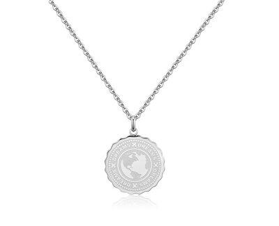 Ocelový náhrdelník Dreams Coin SKY01