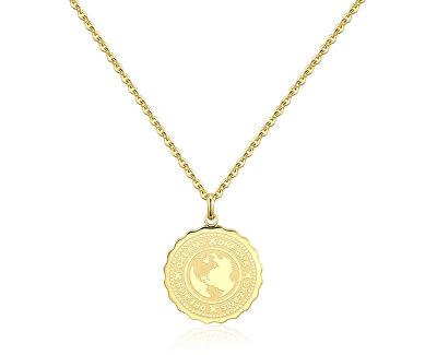 Oceľový náhrdelník Dreams Coin SKY02
