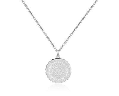 Oceľový náhrdelník Freedom Coin SKY05