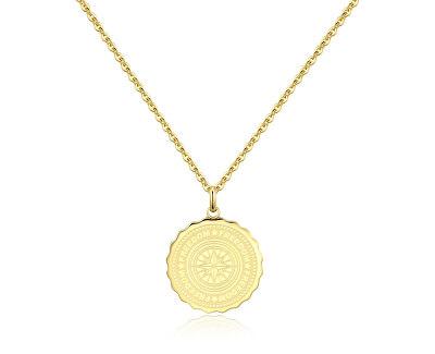 Oceľový náhrdelník Freedom Coin SKY06