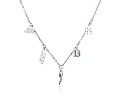Ocelový náhrdelník Get Lucky SGY01