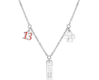 Ocelový náhrdelník pro štěstí Get Lucky SGY02