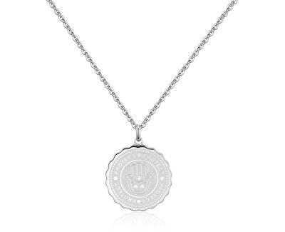Oceľový náhrdelník Protect Coin SKY03
