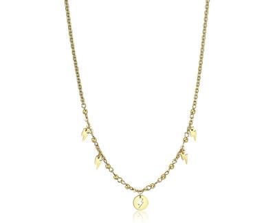 Oceľový náhrdelník s ozdobami Haiti SHT06