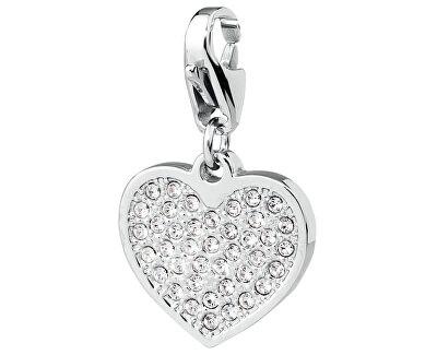 S`Agapõ Pandantiv cu cristale Swarovski Happy Inimă de cristal SHA28