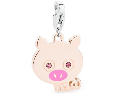 S`Agapõ Pandantiv fericit de porc de aur SHA108
