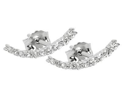 Cercei din argint cu zirconiu SC232