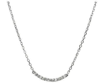 Silver Cat Strieborný náhrdelník so zirkónmi SC231