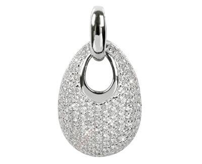 Silver Cat Stříbrný přívěsek s krystaly SC107