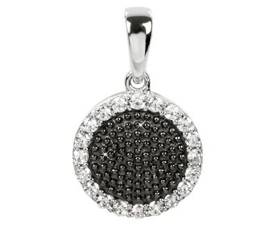Silver Cat Stříbrný přívěsek s krystaly SC143