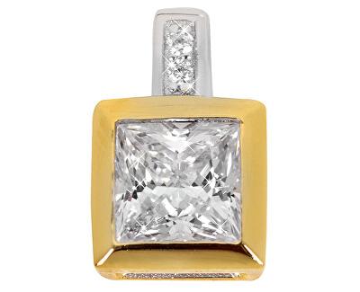 Silver Cat Stříbrný přívěsek s krystaly SC167