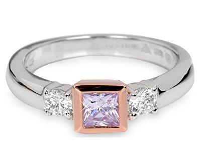 Silver Cat Stříbrný prsten s krystaly SC145