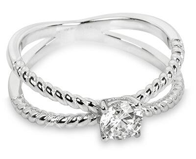Silver Cat Strieborný prsteň so zirkónmi SC180