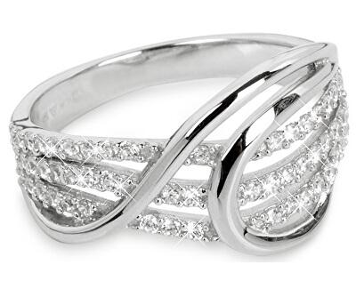 Silver Cat Strieborný prsteň so zirkónmi SC186