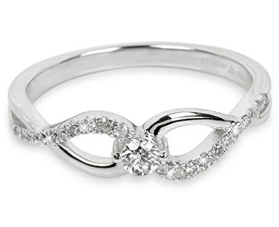 Silver Cat Strieborný prsteň so zirkónmi SC195