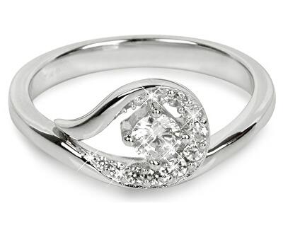 Silver Cat Strieborný prsteň so zirkónmi SC212