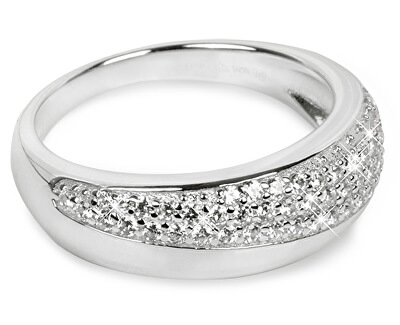 Silver Cat Strieborný prsteň so zirkónmi SC218