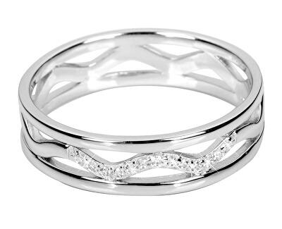 Inel de argint cu zirconiu cubic SC248