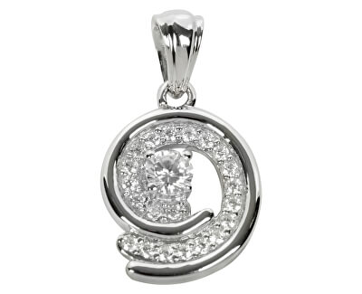 Stříbrný přívěsek s krystaly SC020